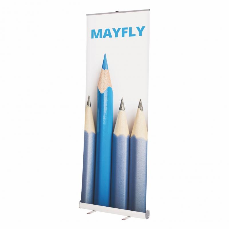 Prezentační systémy - Roll Up banner - Mayfly