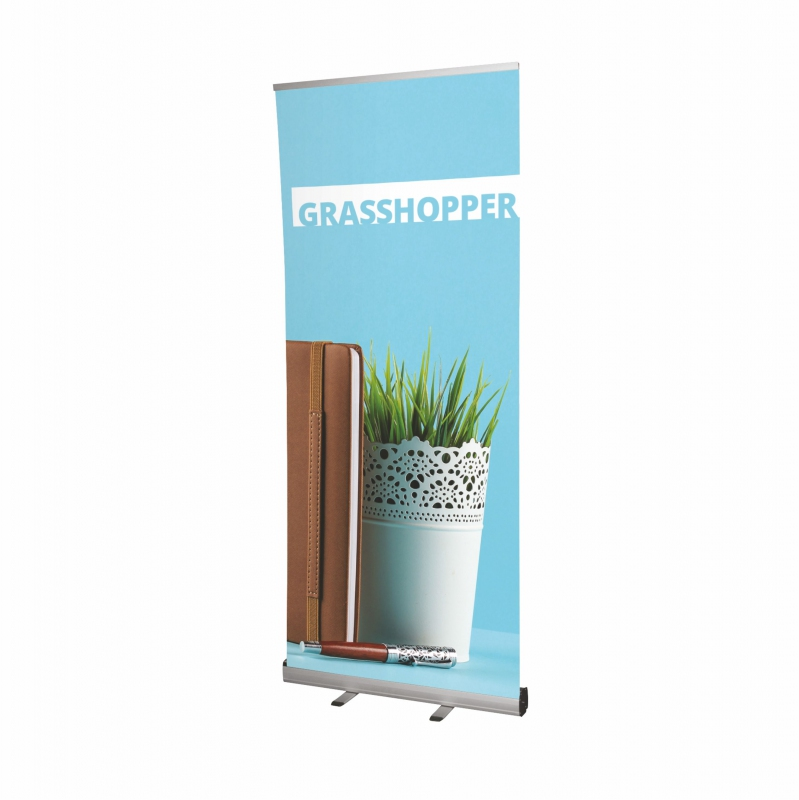 Prezentační systémy - Roll Up banner - Grasshopper