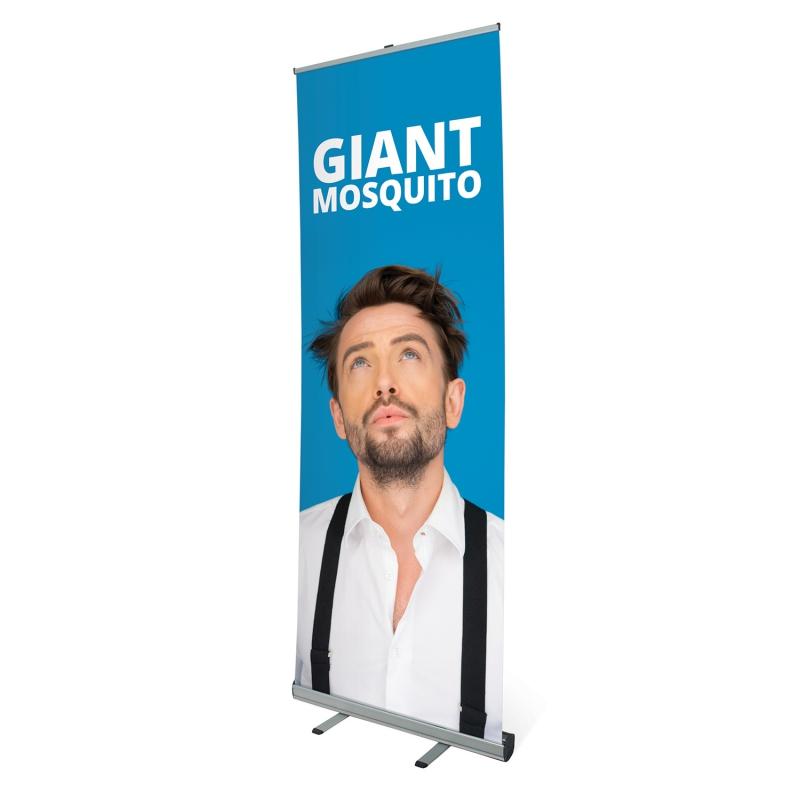 Prezentační systémy - Roll Up banner - Giant Mosquito
