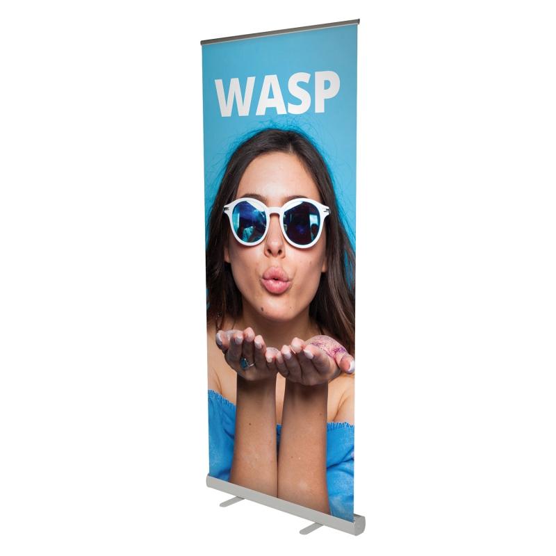 Prezentační systémy - Roll Up banner - Wasp