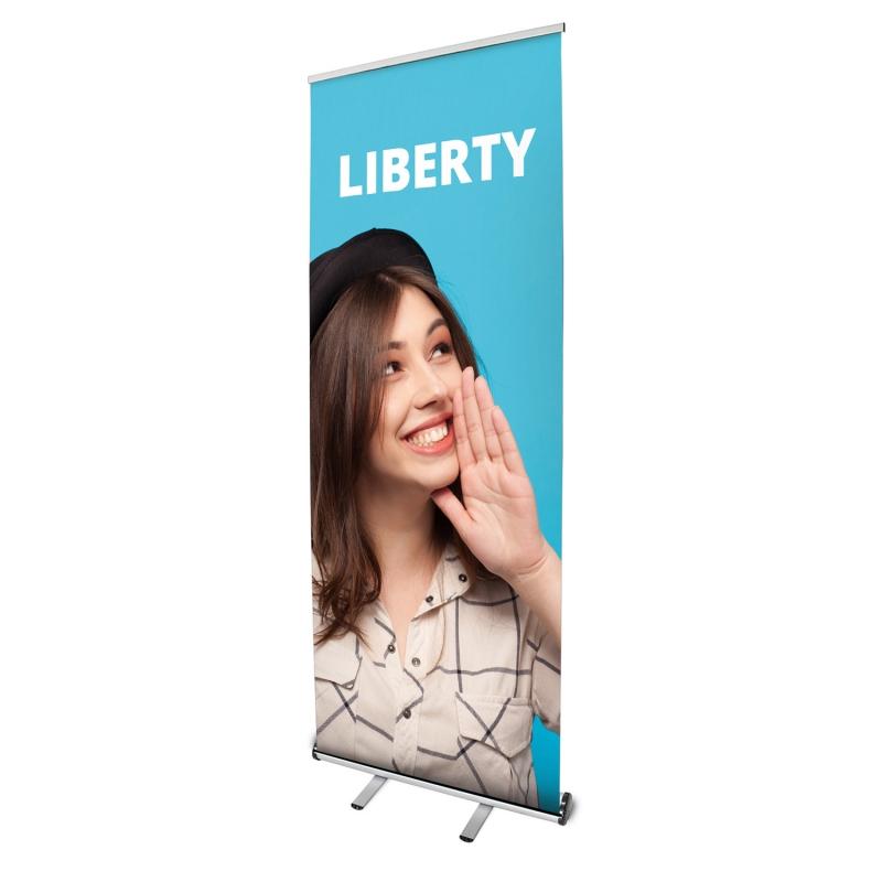 Prezentační systémy - Roll Up banner - Liberty
