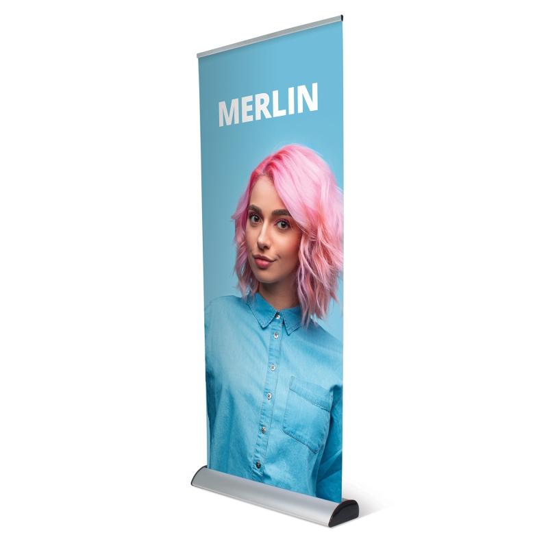 Prezentační systémy - Roll Up banner - Merlin
