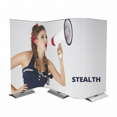 Flexibilní stěna - Stealth 3+2