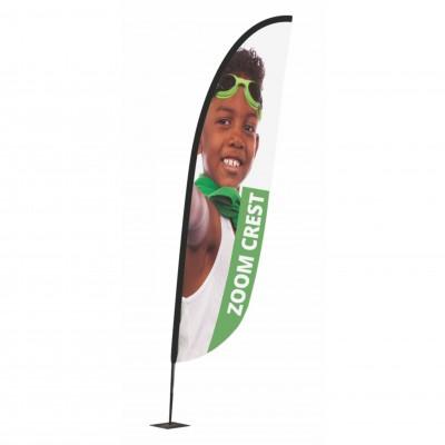 Reklamní vlajka - Zoom+ Crest