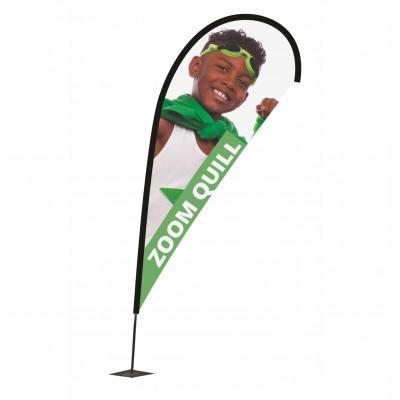 Reklamní vlajka - Zoom+ Quill