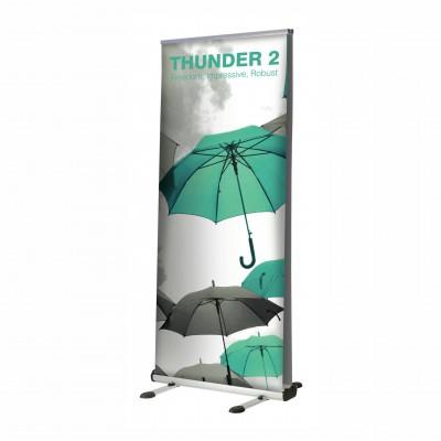 Oboustranný venkovní banner - Thunder 2