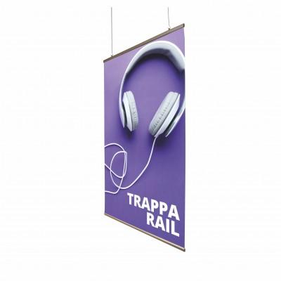 Závěsné plakátové lišty - Trappa Rail