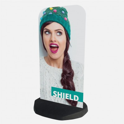 Volně stojící cedule - Shield