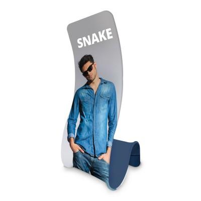 Látková napínací zástěna - Formulate Snake