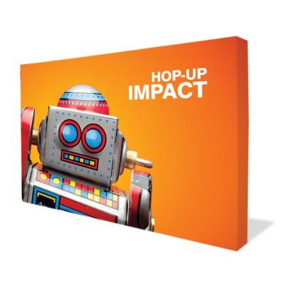 Rovná textilní stěna - Hop up Impact