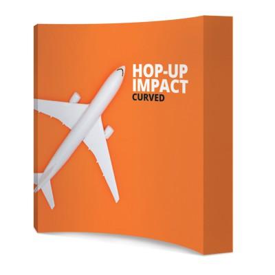 Zakřivená textilní stěna - Hop up Curved